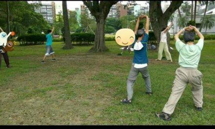 氣功養生班 6/10(六)–舉手轉跨拉筋式